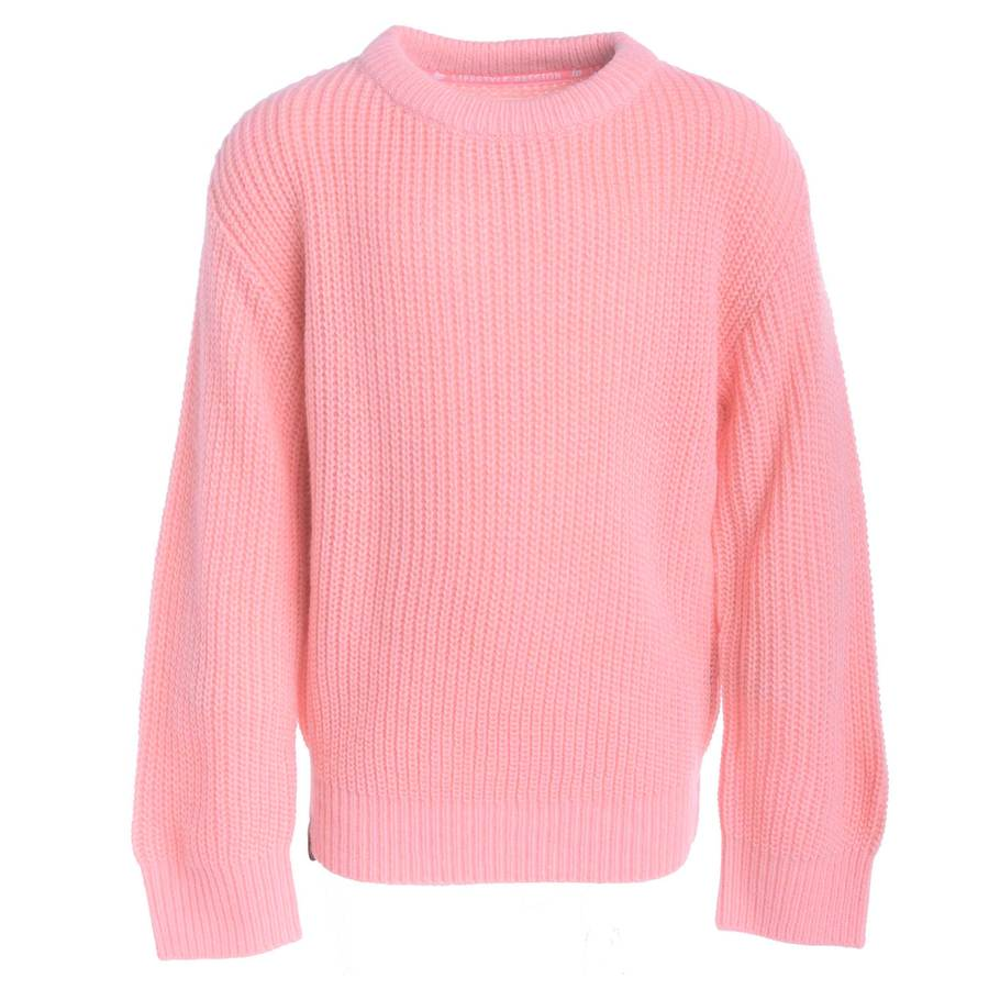 KNIT SWEATER (MALLOW) - Bubblegum Pink
