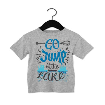 GO JUMP IN THE LAKE TEE