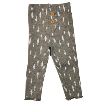 LEGGING PANT - DARK HEATHER GREY