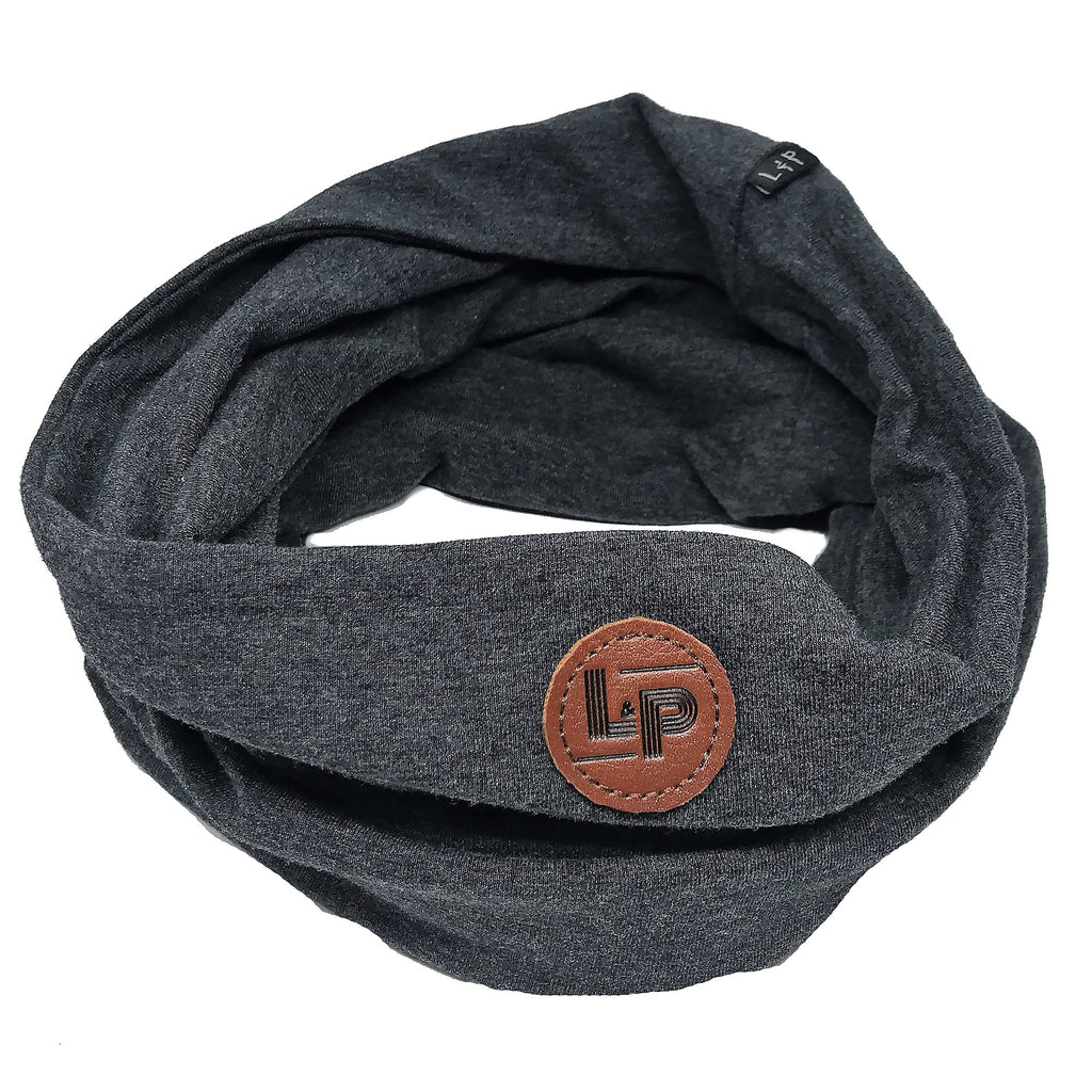 LP Apparel Scarf - Charcoal