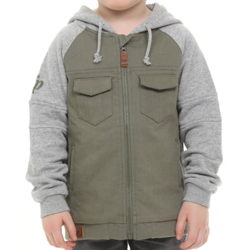 Urban style boys jacket - Green