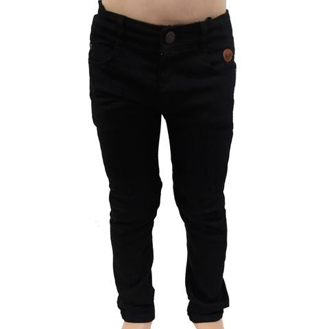 Skinny cut pants (Black)