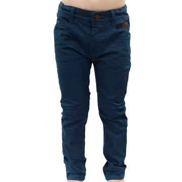 Skinny cut pants - Steel Blue