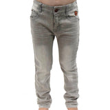 Skinny cut pants (Light Grey)