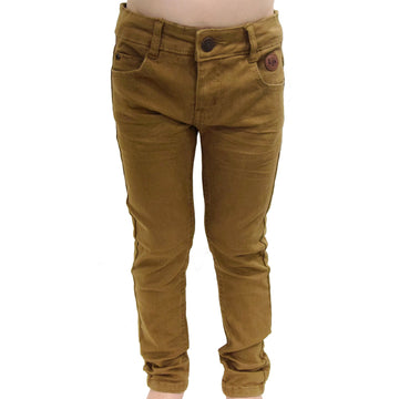 Skinny cut pants (Tan)
