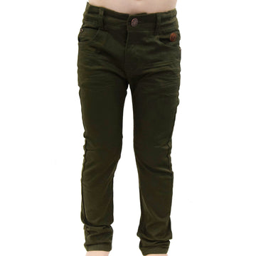 Skinny cut pants (Green camo)