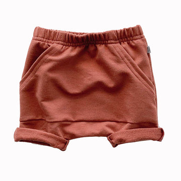 Pocket Shorts - Rust