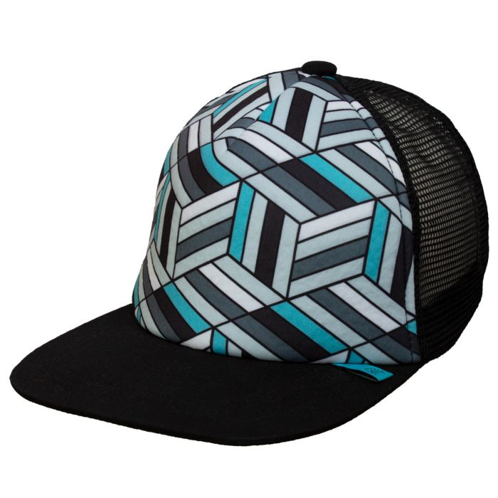 Boys Vented Mesh Geo Ball Hat