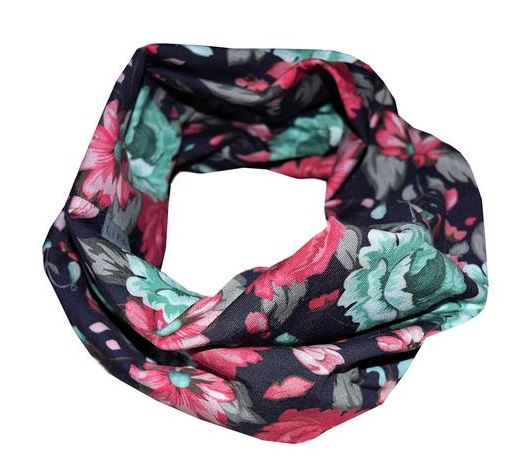 LP Apparel Scarf - Blue Floral