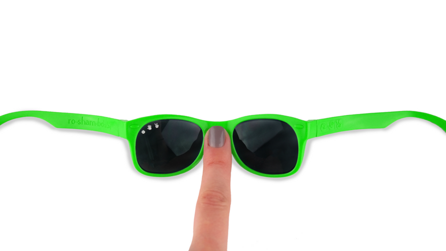 SLIMER BRIGHT GREEN SUNGLASSES