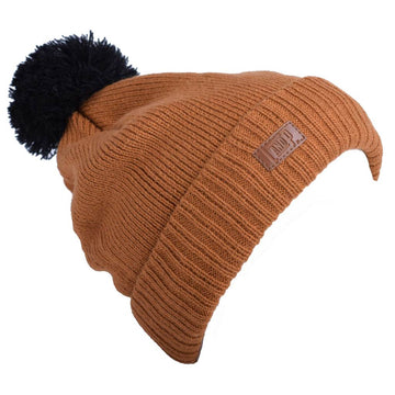 Knit hat (Whistler '21) - Toffee