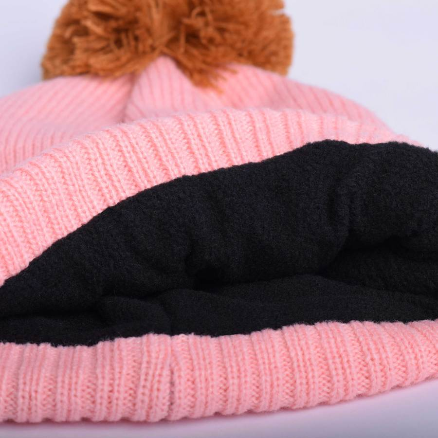 Knit hat (Whistler '21) - Pretty Pink