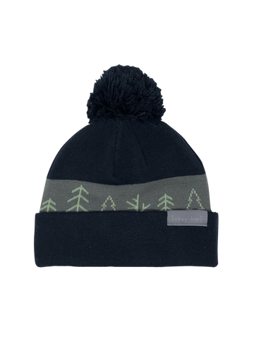 Hug a Tree Roll-Up Beanie
