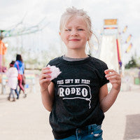 This Isn't My First Rodeo Charcoal Tee