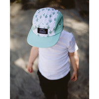 Kids 5 Panel Hat — Cactus