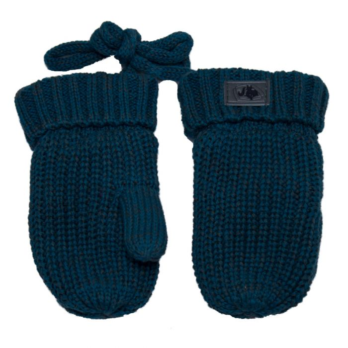 Knitted Mitts Lagoon Mix