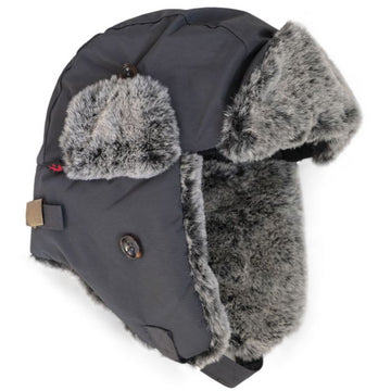 Trapper Hat - Charcoal