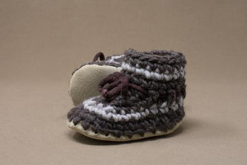 Brown Stripe Slipper