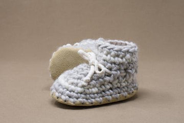 Grey Stripe Slipper