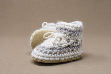 Cream Stripe Slipper