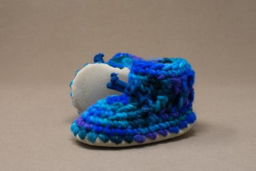 Blue Multi Slipper