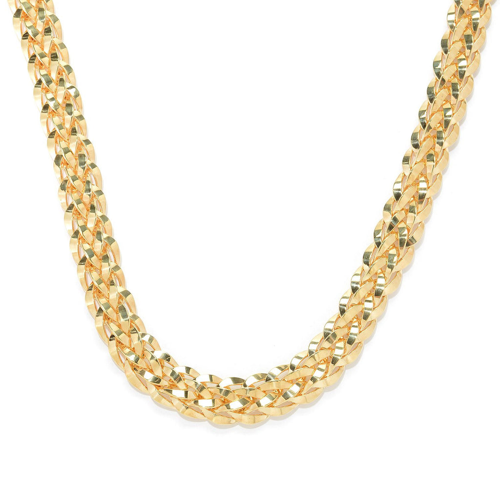 Woven Grand Link Necklace