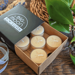 Beeswax Tealights - Big Moon Beeswax
