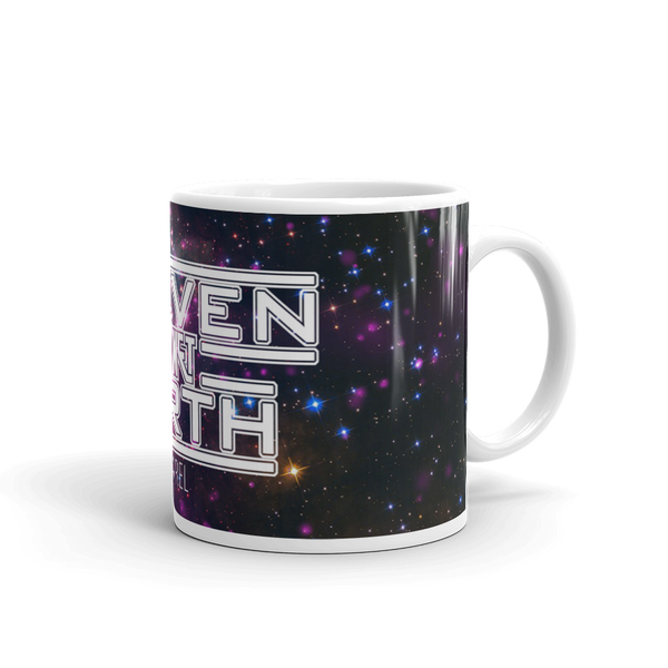 Heaven On Planet Earth Galaxy Mug