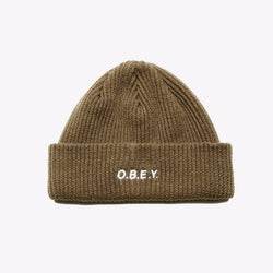 Obey Contorted Beanie army - SEWERS SKATESHOP