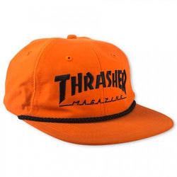 Thrasher Rope Hat Orange gorras, Thrasher, SEWERS SKATESHOP- SEWERS SKATESHOP