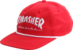 Thrasher Rope Hat red gorras, Thrasher, SEWERS SKATESHOP- SEWERS SKATESHOP