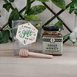ABC Ginger Flavoured Honey - 140g with dipper Giftbox