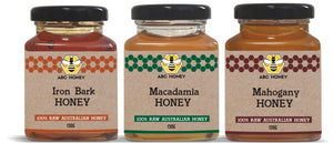 ABC Artisan Honey Range - 3 x 140g Gift Pack