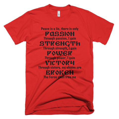 sith code shirt red