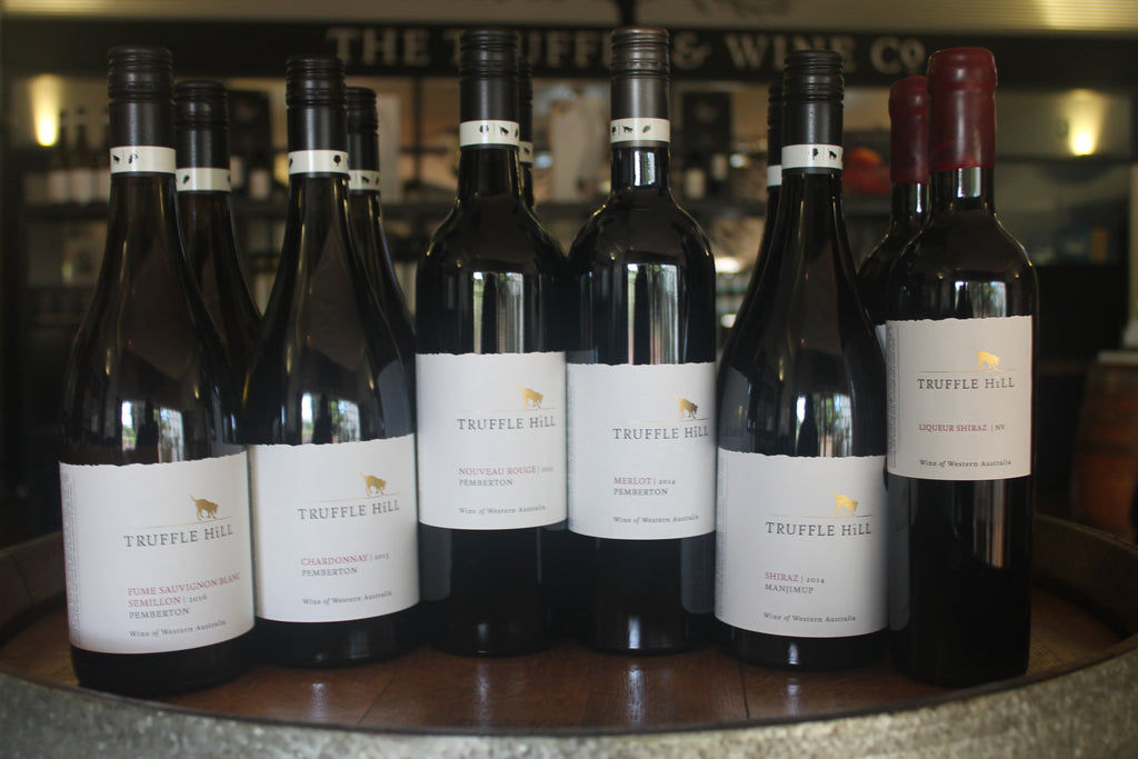 Mixed Case (12) of our award winning Truffle Hill Wines $250 - Save $134!