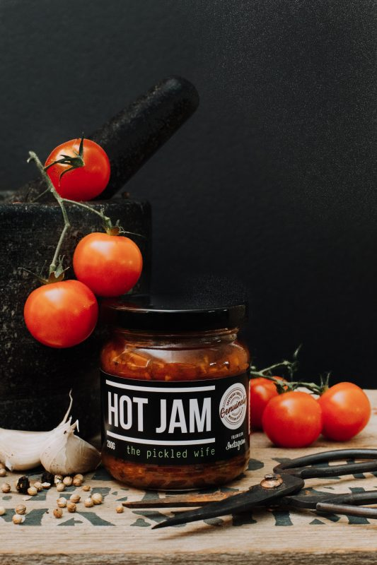 The Pickled Wife Hot Jam 200g