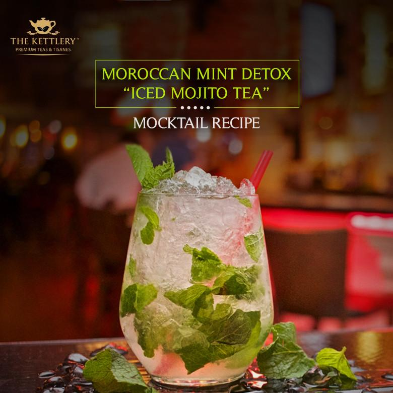Moroccan Mint Detox Iced Mojito Tea: Recipe | The Kettlery