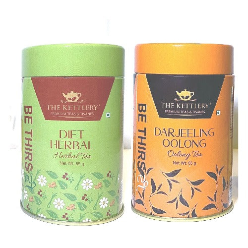 Weight Loss Tea Combo with Diet Herbal Tea & Darjeeling Oolong Tea