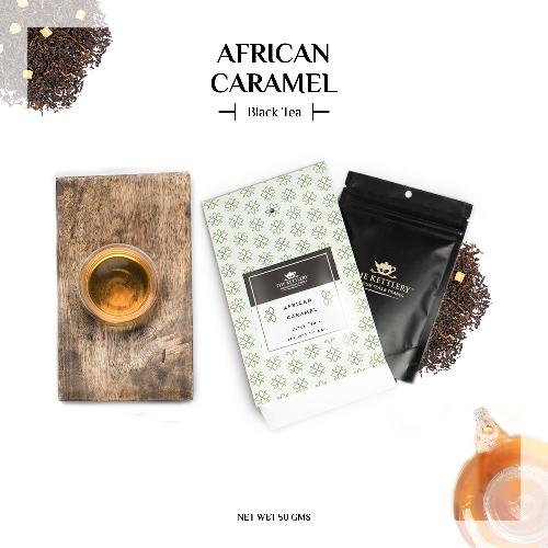 African Caramel Milk Chocolate Black Tea - Black Tea-The Kettlery