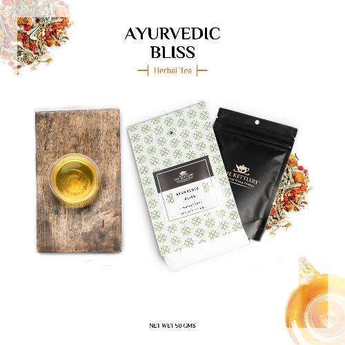 Ayurvedic Bliss Herbal Lemongrass & Nettle Tea - Herbal Tea-The Kettlery