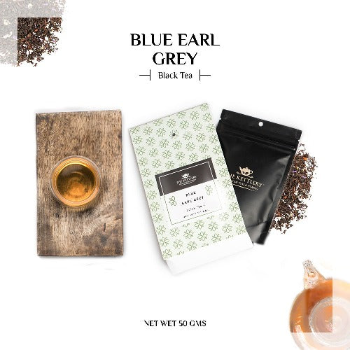 Blue Earl Grey with Aromatic Blue Pea Flower - Black Tea-The Kettlery