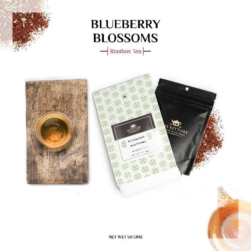 Blueberry Blossoms Aromatic Rooibos Dessert Blend - Rooibos Tea-The Kettlery