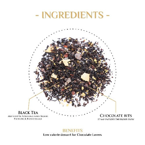 Bon Voyage Chocolate Black Tea - Black Tea-The Kettlery