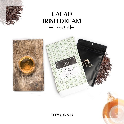 Cacao Irish Dream Black Tea - Black Tea-The Kettlery