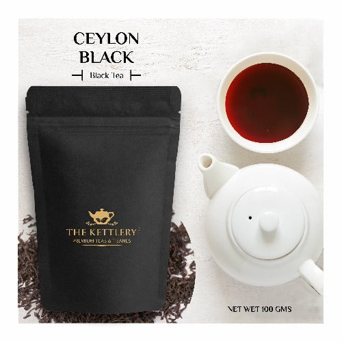 Ceylon Black - Srilanka Black Tea - Black Tea-The Kettlery