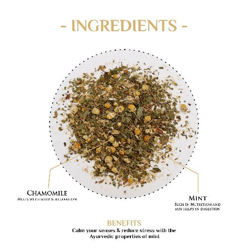 Chamomile Mint Herbal Tea - Herbal Tea-The Kettlery