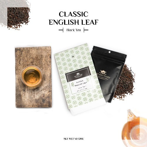 Classic English Leaf Breakfast Black Tea - Black Tea-The Kettlery