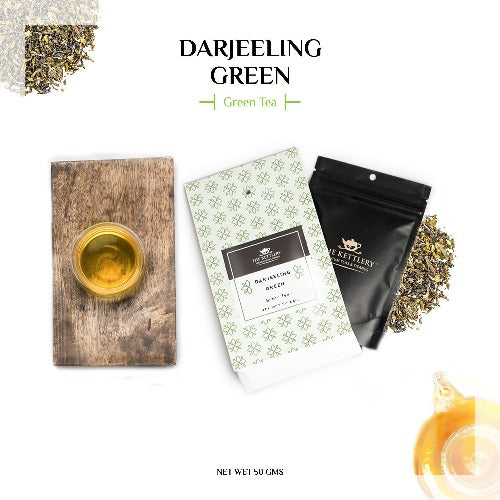Darjeeling Green Tea - Green Tea-The Kettlery