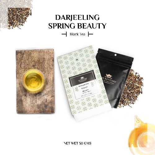 Darjeeling Spring Beauty Black Tea Black Tea The Kettlery 50g in