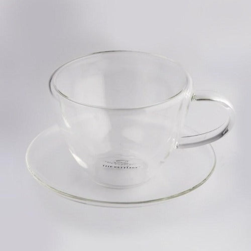Double Walled Latte Tea Cup & Saucer Tea Cups The Kettlery